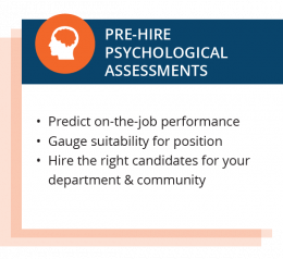 Police Officer & Firefighter Assessments, Promotionals, and Psych Eval 2