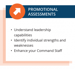 Police Officer & Firefighter Assessments, Promotionals, and Psych Eval 3